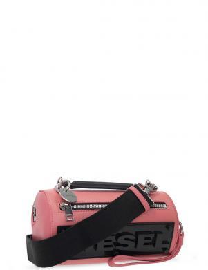 DIESEL sieviešu rozā soma pār plecu