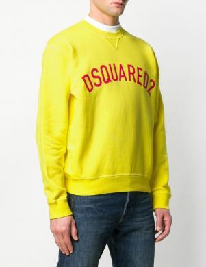 DSQUARED2 vīriešu dzeltens džemperis