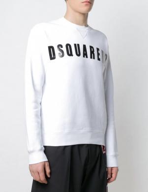DSQUARED2 vīriešu balts džemperis
