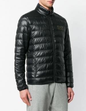 EA7 vīriešu melna dūnu jaka