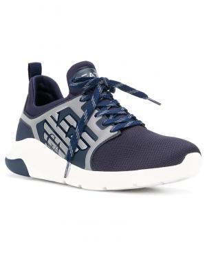 EA7 vīriešu tumši zili ikdienas apavi