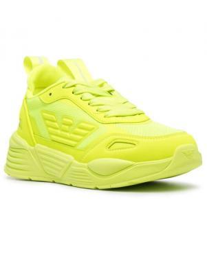 EA7 sieviešu spilgti dzelteni ikdienas apavi