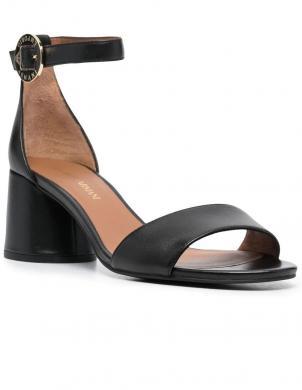EMPORIO ARMANI sieviešu melnas sandales