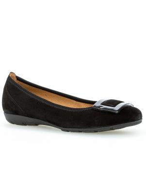 GABOR sieviešu melni balerīnas apavi