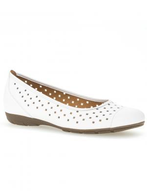 GABOR sieviešu balti balerīnas apavi