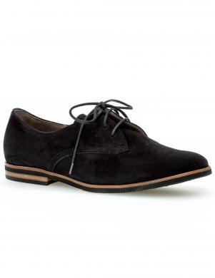 GABOR sieviešu tumši zili ar gludi zoli apavi