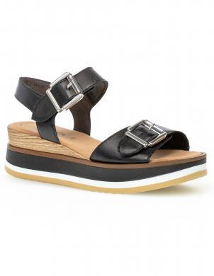 GABOR sieviešu melnas sandales