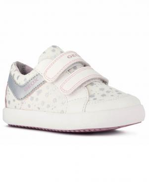 GEOX bērnu balti ikdienas apavi meitenēm B GISLI GIRL