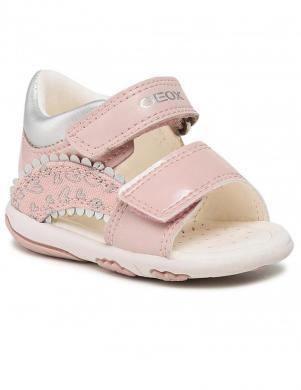 GEOX bērnu rozā sandales B SANDAL NICELY