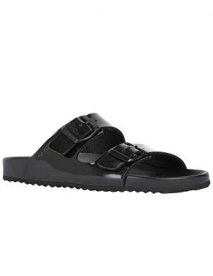 GEOX sieviešu melnas sandales BRIONIA