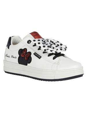 GEOX bērnu balti ikdienas apavi REBECCA GIRL