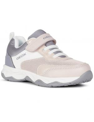 GEOX bērnu pelēki ikdienas apavi meitenēm CALCO GIRL