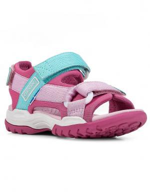 GEOX bērnu rozā sandales meitenēm BOREALIS GIRL