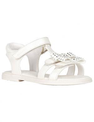 GEOX bērnu baltas sandales SANDAL KARLY GIRL