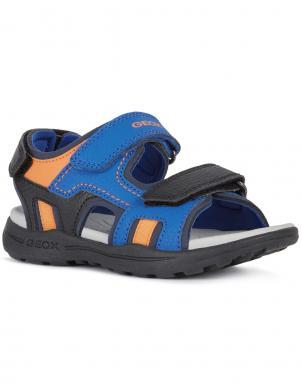 GEOX bērnu zilas sandales zēniem VANIETT BOY