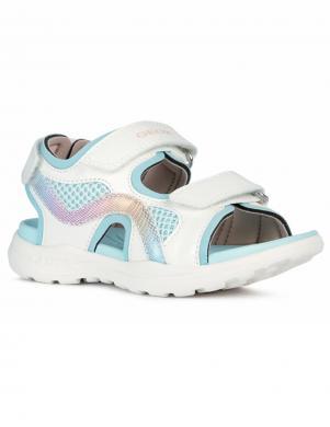 GEOX bērnu baltas sandales meitenēm VANIETT GIRL