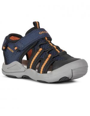 GEOX bērnu zilas sandales zēniem SANDAL KYLE