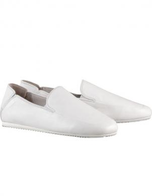 HOGL sieviešu balti ar gludu papēdi apavi SILENT