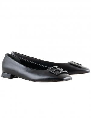 HOGL sieviešu melni apavi ar sprādzi PETTY