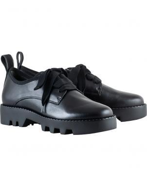 HOGL sieviešu melni apavi ar biezu zoli DADDY COOL
