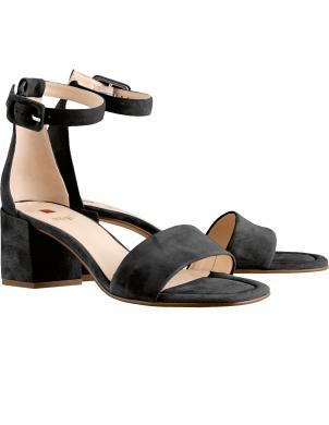 HOGL sieviešu melnas sandales INNOCENT