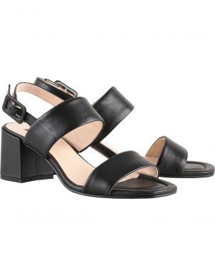 HOGL sieviešu melnas sandales PURE