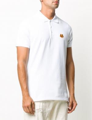 KENZO vīriešu balts Polo tipa krekls