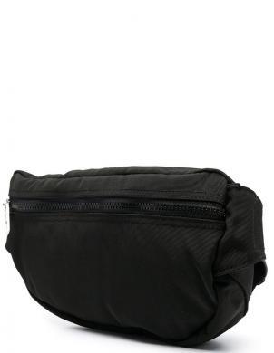 KENZO vīriešu melna izšūta soma ap vidukli KAMPUS