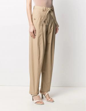 KENZO sieviešu smilšu krāsas bikses