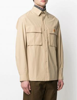 KENZO vīriešu smilšu krāsas krekls