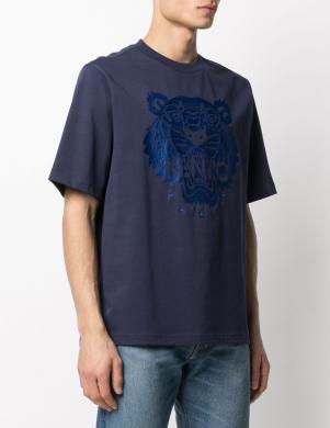 KENZO vīriešu tumši zils krekls ar īsām piedurknēm