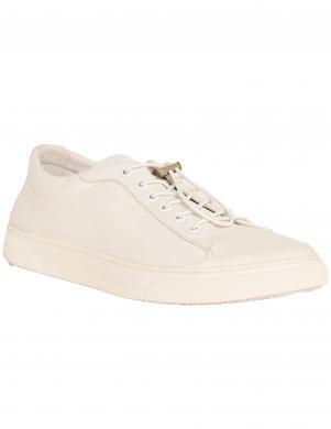 LA CONTE vīriešu balti ādas ikdienas apavi