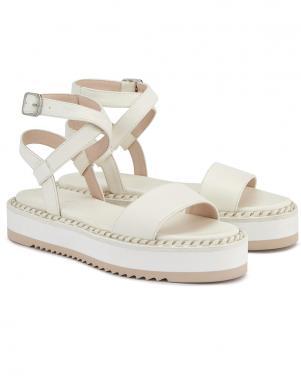 AGL sieviešu baltas sandales MYRTE