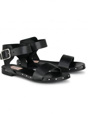 AGL sieviešu melnas sandales SVEVA