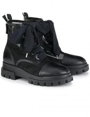 AGL sieviešu melni apavi - zābaki VOILE