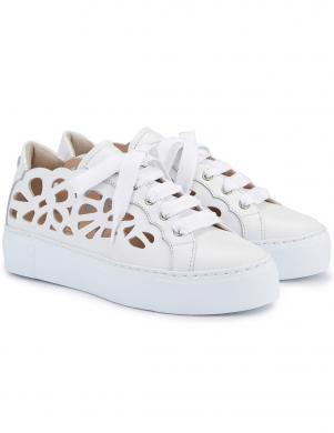 AGL sieviešu balti ikdienas apavi MANDI