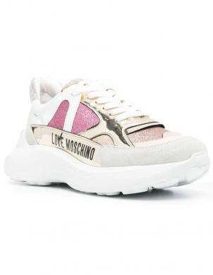 LOVE MOSCHINO sieviešu gaiši ikdienas apavi
