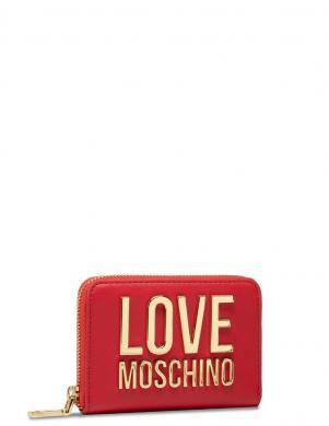 LOVE MOSCHINO sieviešu sarkans maks