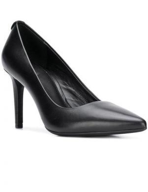 MICHAEL KORS sieviešu melni ādas augstpapēžu apavi DOROTHY FLEX