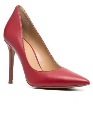 MICHAEL KORS sieviešu sarkani ādas augstpapēžu apavi KEKE