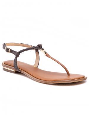 MICHAEL KORS sieviešu brūnas sandales