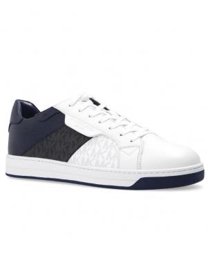 MICHAEL KORS vīriešu tumši zili - melni ikdienas apavi KEATING