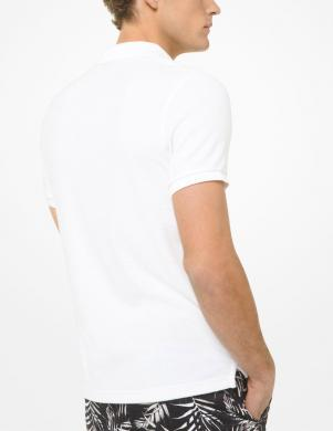 MICHAEL KORS vīriešu balts Polo tipa krekls
