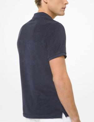 MICHAEL KORS vīriešu tumši zils Polo tipa krekls