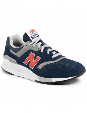 NEW BALANCE vīriešu zili-oranži ikdienas apavi