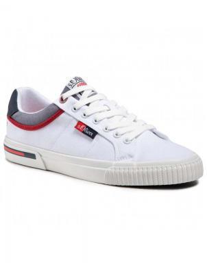 S.OLIVER vīriešu balti ikdienas apavi