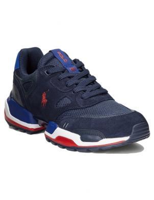 POLO RALPH LAUREN vīriešu tumši zili ikdienas apavi