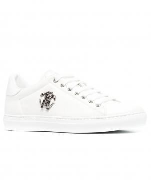 ROBERTO CAVALLI vīriešu balti ikdienas apavi