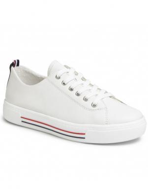 REMONTE sieviešu balti ādas ikdienas apavi