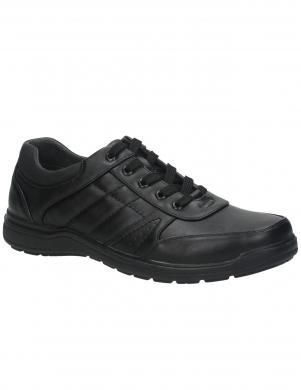 EASY GO vīriešu melni ikdienas apavi